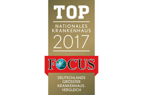 Focus Siegel TOP Nationales Krankenhaus 2017